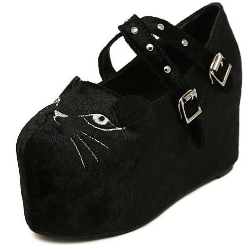 cat platform shoes sws12165