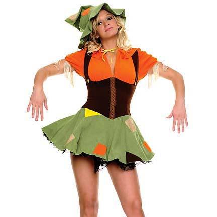 Cute Scarecrow Costume M9978
