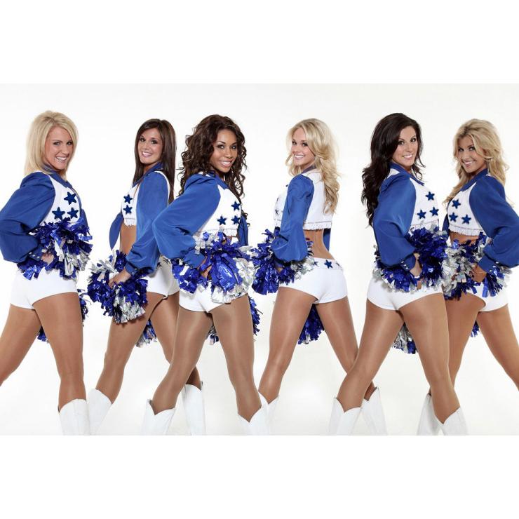 Dallas Cowboys Cheerleader Costume, Dallas Cowboy Cheerleader Uniform, Dallas Cowboy Cheerleader Outfit, #N1676
