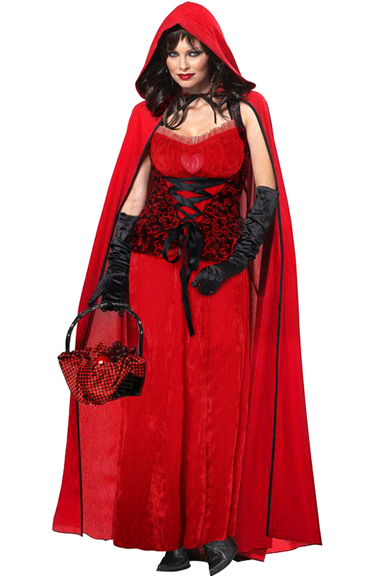 dark red riding hood costume dark red riding hood costume