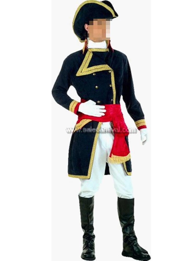 Deluxe Captain Quinn Pirate Costume N5083