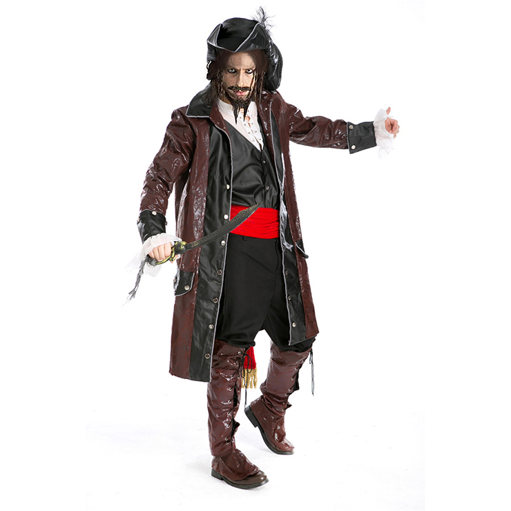 Deluxe Caribbean Pirate Costume P7694