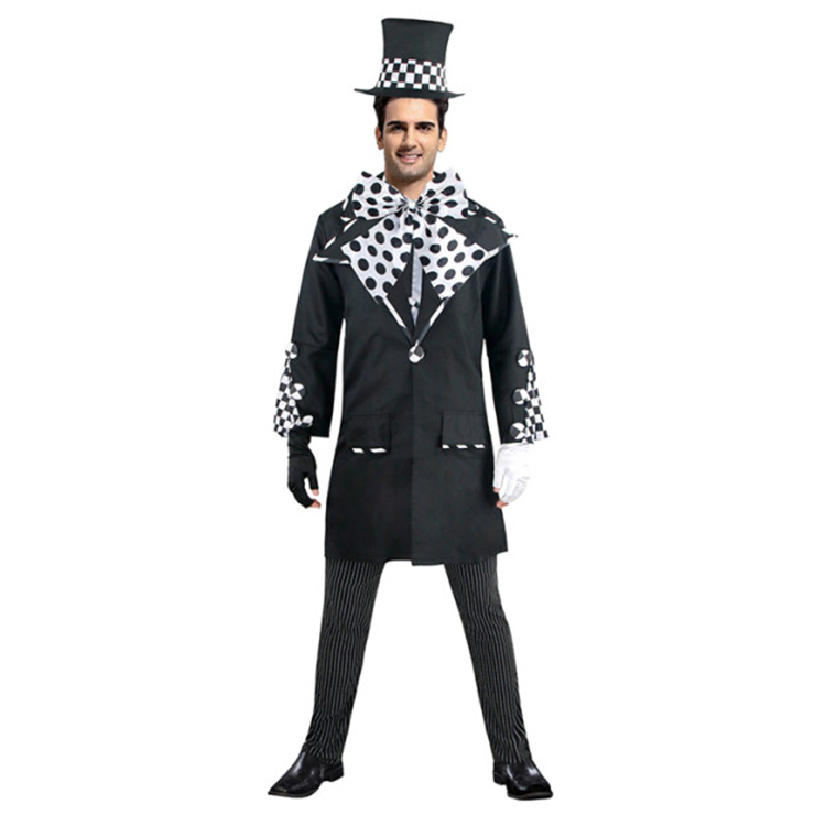 Deluxe Dark Mad Hatter Adult Costume N4785