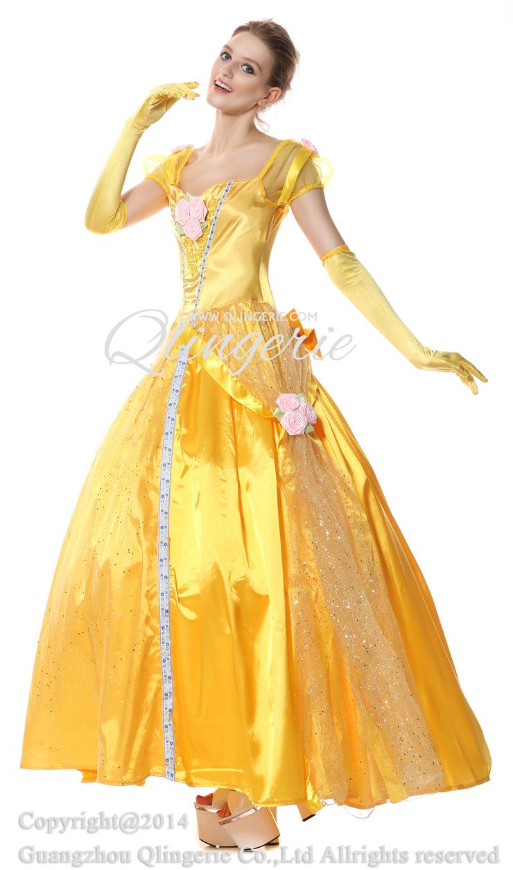 Deluxe Disney Belle Costume N5943  sc 1 st  Meningrey & Disney Belle Deluxe Costume - Meningrey