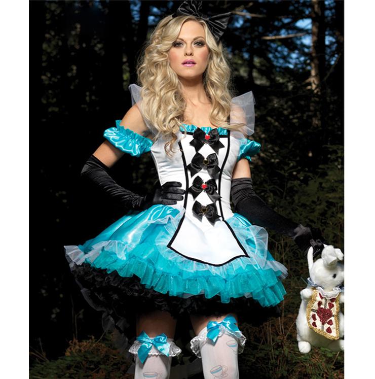 Deluxe Fantasy Alice Costume N4418
