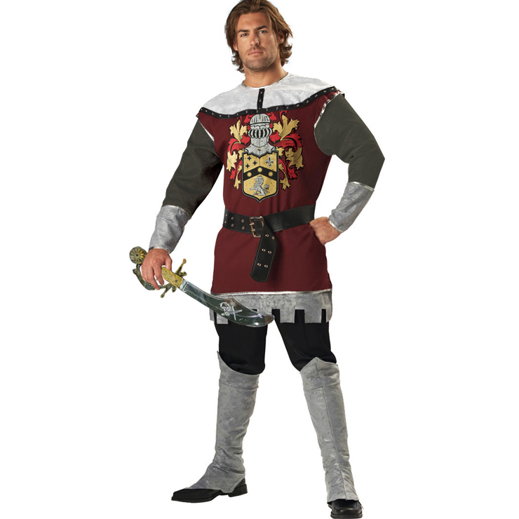 Deluxe Noble Knight Costume N4732