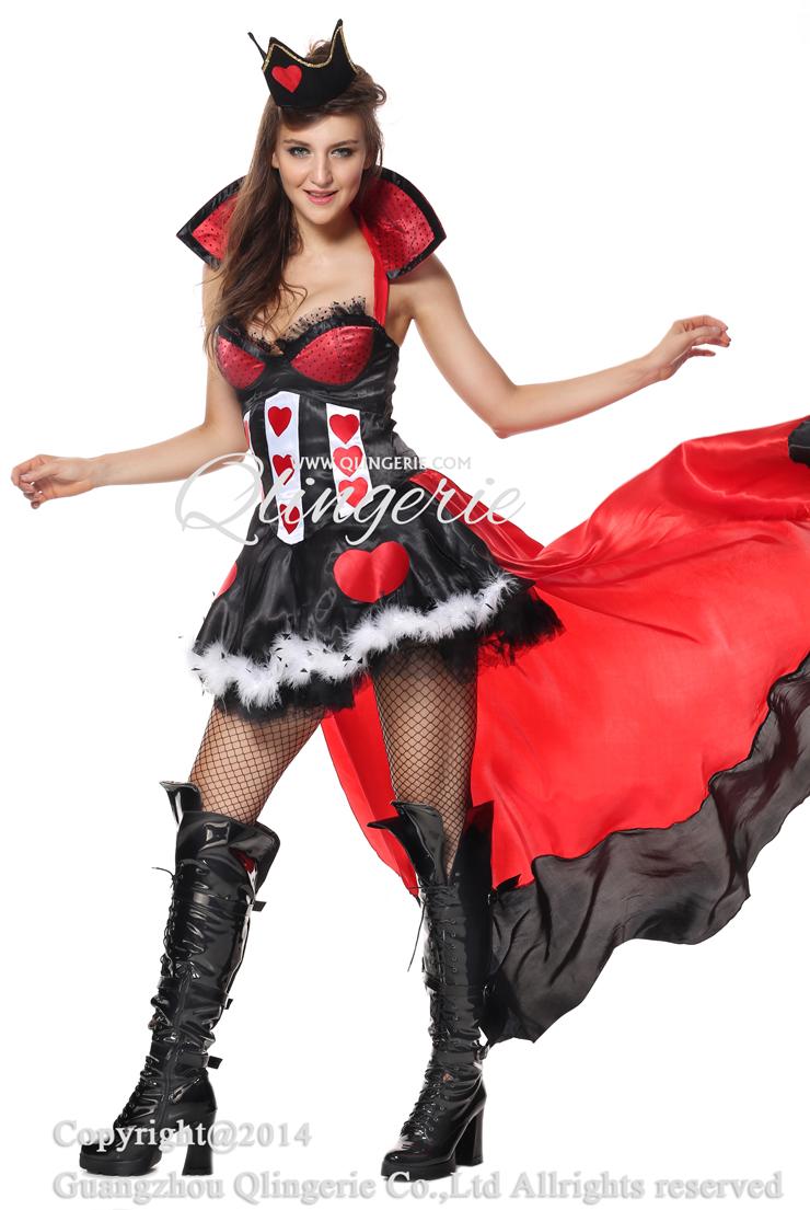 deluxe queen of hearts costume n5848