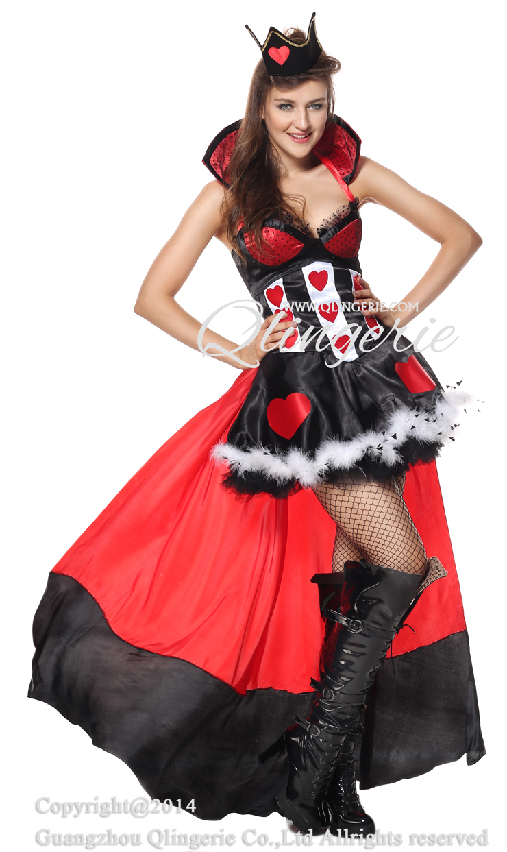 sc 1 st  MallTop1.com & Deluxe Queen of Hearts Costume N5848