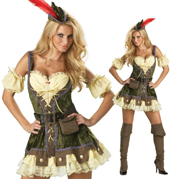 Deluxe Racy Robin Hood Costume M822