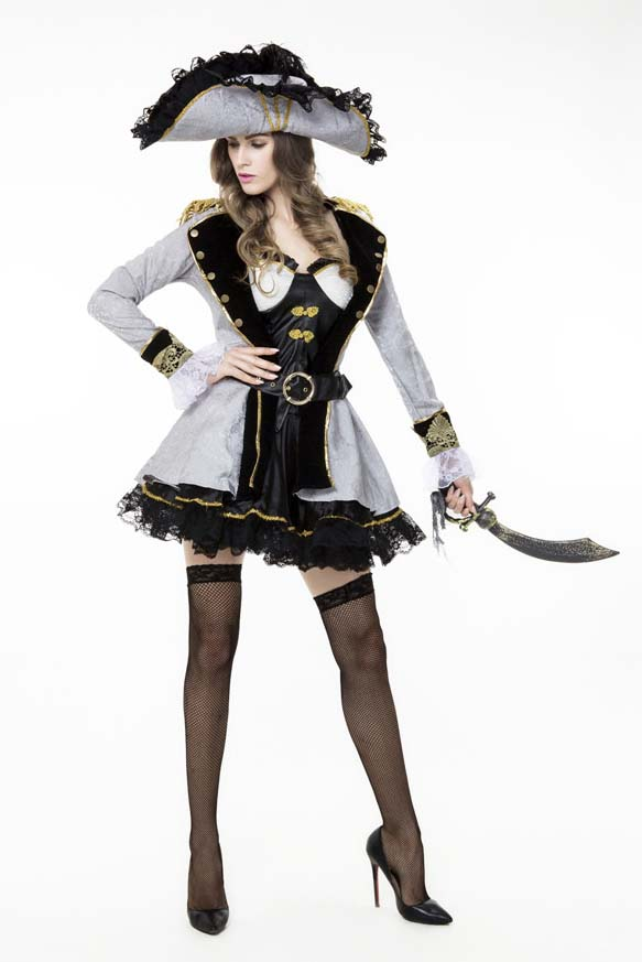 Sexy Halloween Costume, Cheap Pirate Costume, Women