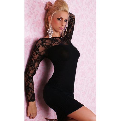 black Long Sleeves lingerie N1422
