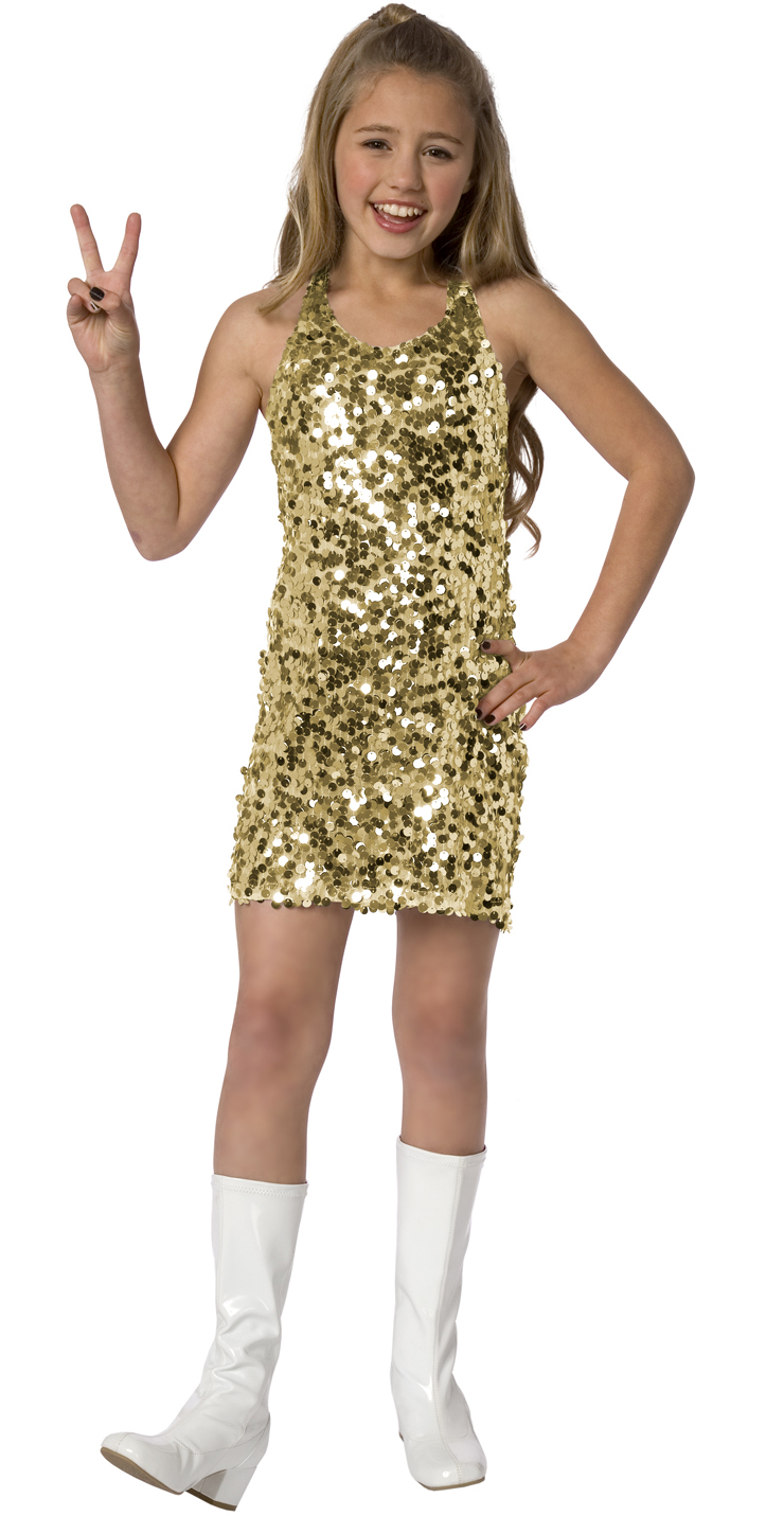 Disco costume for girl N5972