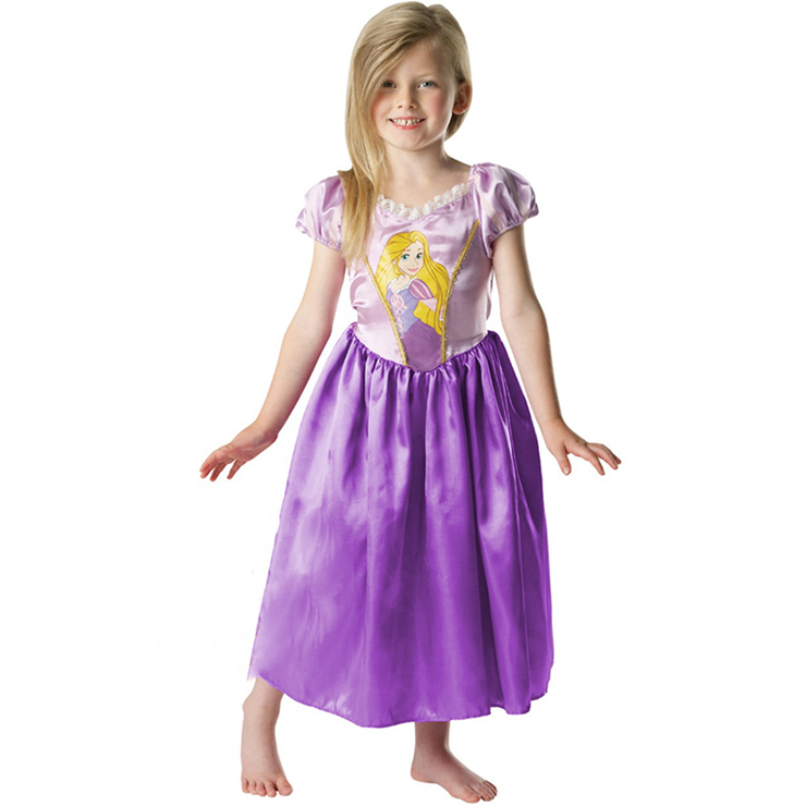 2f50c75bed12 Girls Purple Classic Princess Costume Fancy Dress N5973