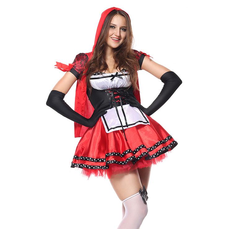 Divine Miss Red Costume N5102