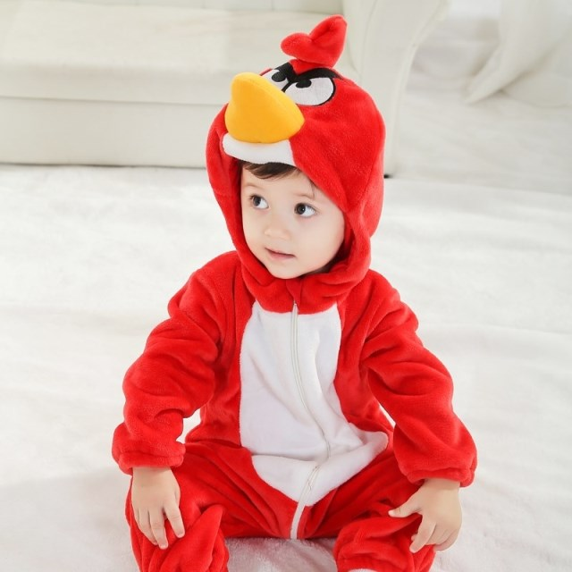 double anger bird romper n6278