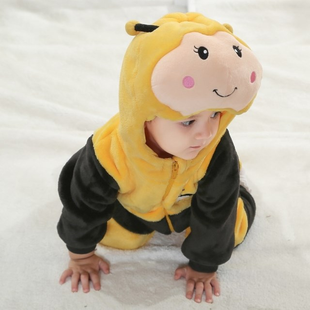 Double Little Bee Climbing Clothes  N6290