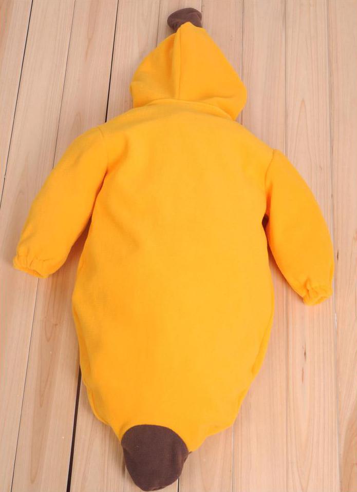 Double Polar Fleece Banana Sleeping Bag N5787