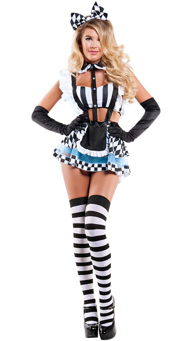 Sexy alice in wonderland costumes for adults