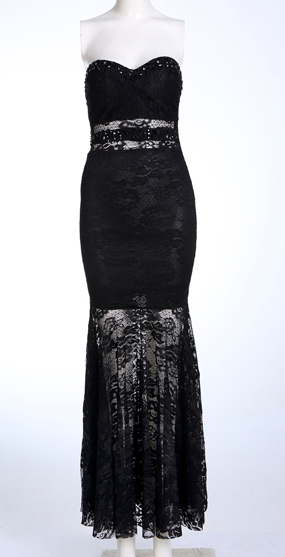 elegant black lace dresses - photo #5