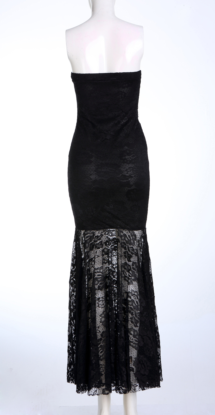 elegant black lace dresses - photo #24
