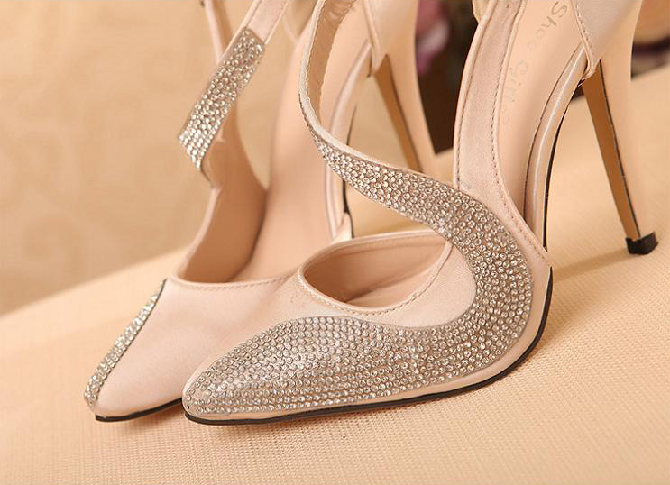 High Elegant Sws20134 Wedding Rhinestone Heels SpMUVGqz