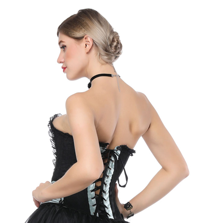 Fashion Body Shaper, Cheap Shapewear Corset, Womens Bustier Top, Sexy Christmas Bustier Corset, Outerwear Corset for Women, #N16541