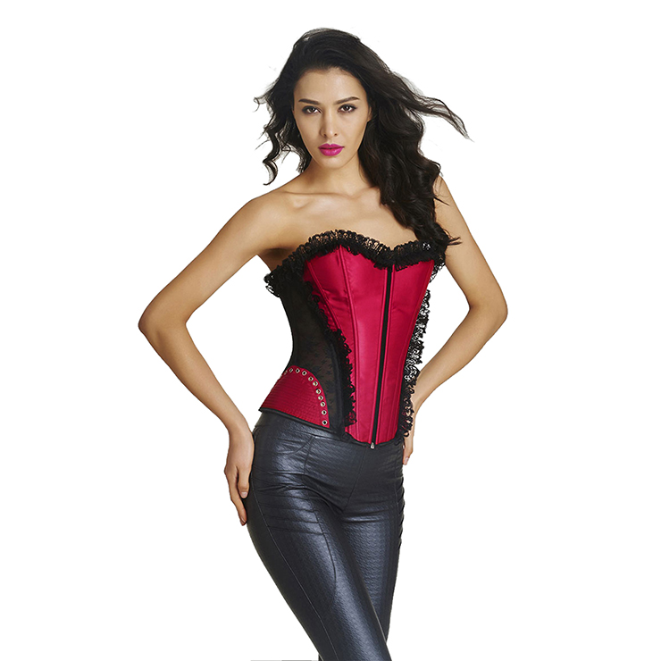 Fashion Body Shaper, Cheap Shapewear Corset, Womens Bustier Top, Sexy Christmas Bustier Corset, Outerwear Corset for Women, #N11306