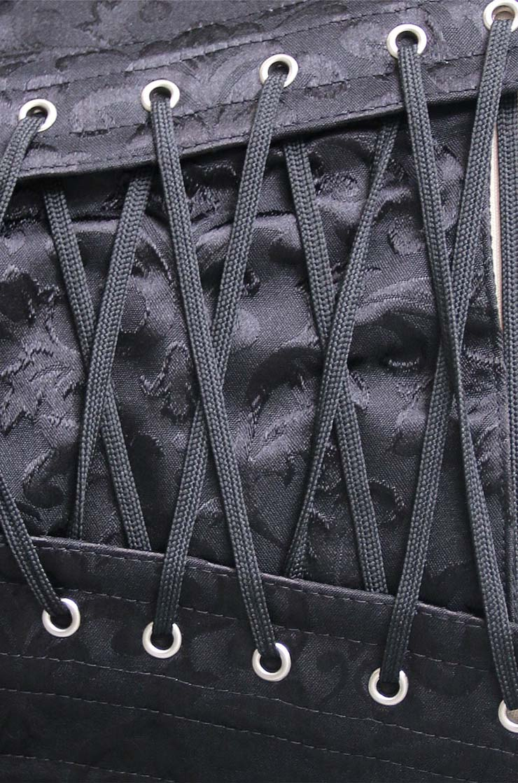 Elegant Underbust Corset, Steel Bone Underbust Corset, Jacquard Weave Body Shaper Underbust Corset, Steampunk Corset, Jacquard Body Shaper, #N9725