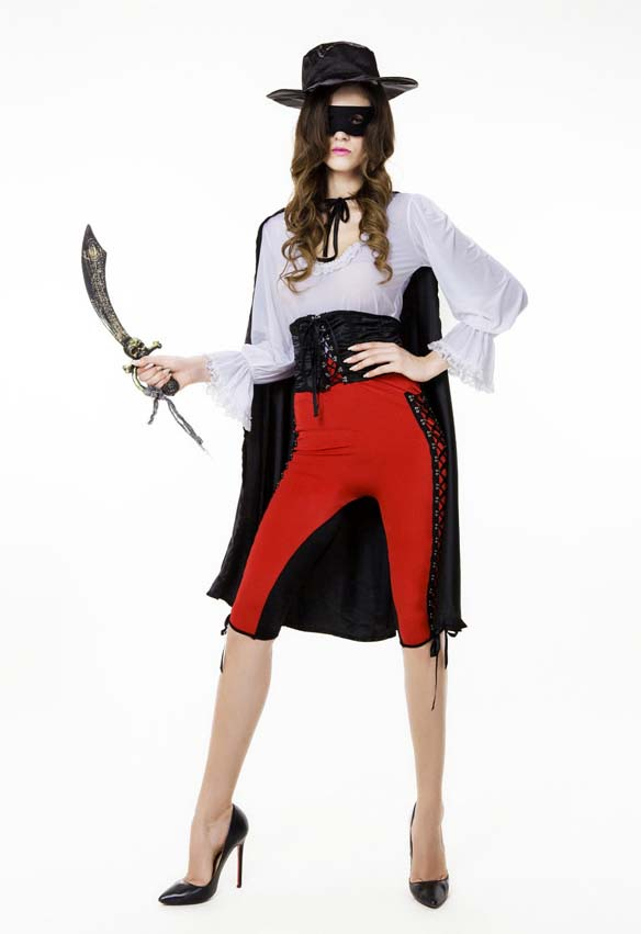 Sexy Halloween Costume, Cheap Bandit Costume, Movie Costume, Women