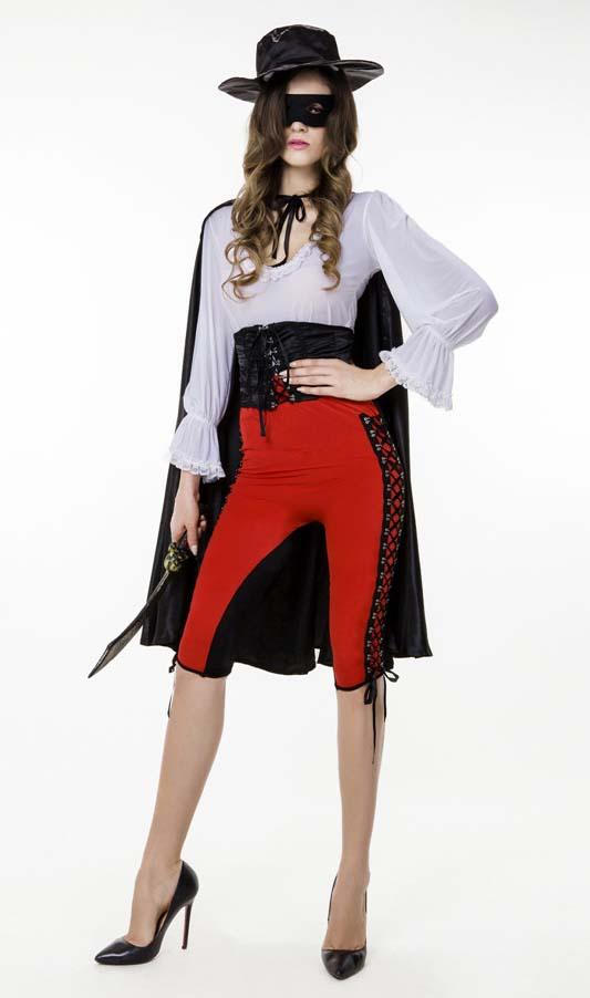 Sexy Halloween Costume, Cheap Bandit Costume, Movie Costume, Women