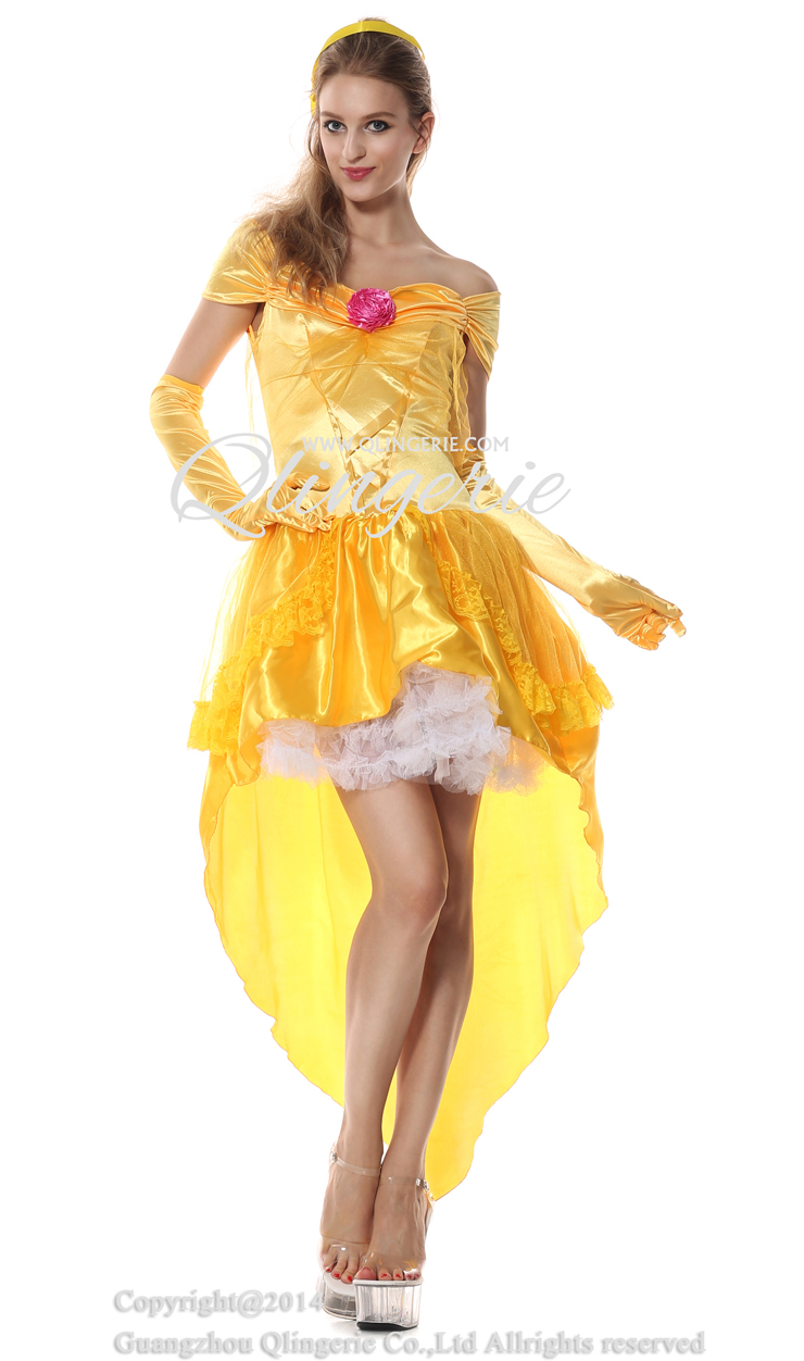 costume belle Adult disney