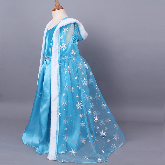 This 45 inch Blue Costume Cape would be great with a variety of different costumes.