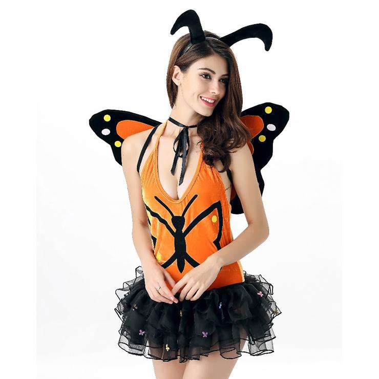 Womens Fancy Butterfly Halloween Performance Costume N11845