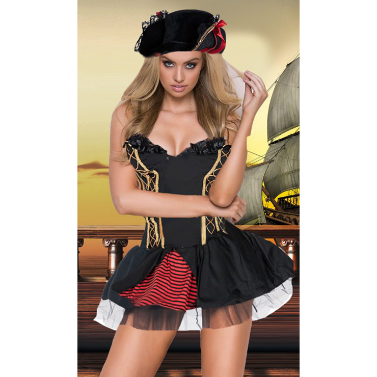 Charming Women's Pirate Adult Costume N14717