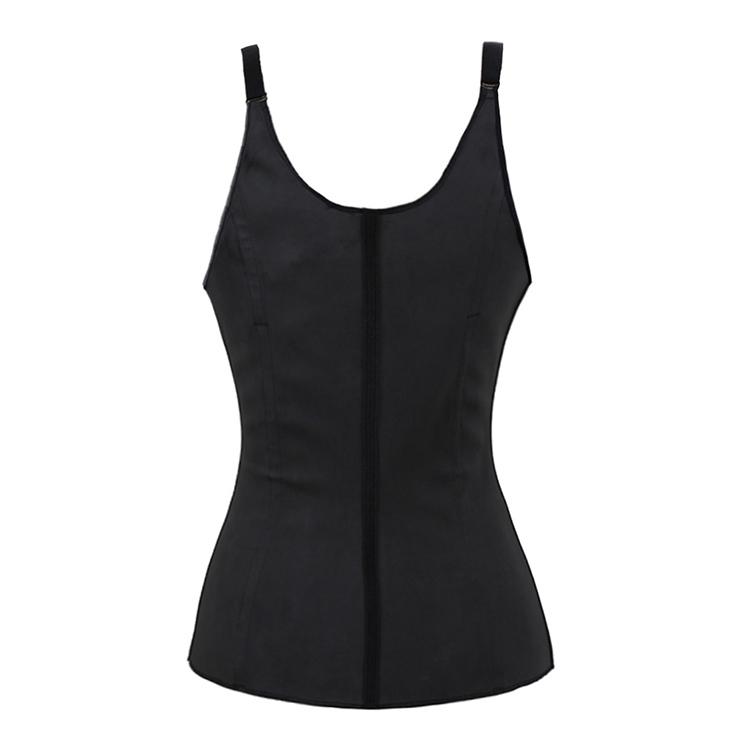 Fashion Black Latex Corset, Steel Bones Underbust Corset, Comfortable Shoulder Strap Corset, Cheap High Quality Underbust Corset, #N9633