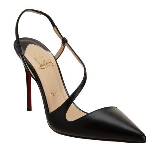 fashion distinctive s black pointed toe stiletto