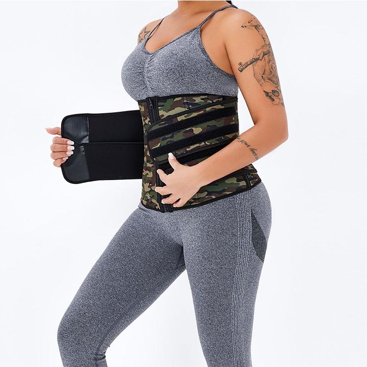 Waist Gym Trainer Corset, Waist Trainer Cincher Belt, Slimmer Body Shaper Belt, Cheap Sport Gym Waist Cincher Belt, Double Velcros Corset Belt, Neoprene Sports Waist Belt, #N20871