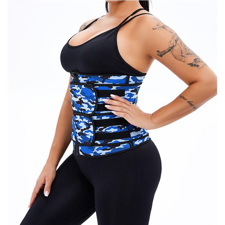 Waist Gym Trainer Corset, Waist Trainer Cincher Belt, Slimmer Body Shaper Belt, Cheap Sport Gym Waist Cincher Belt, Double Velcros Corset Belt, Neoprene Sports Waist Belt, #N20873