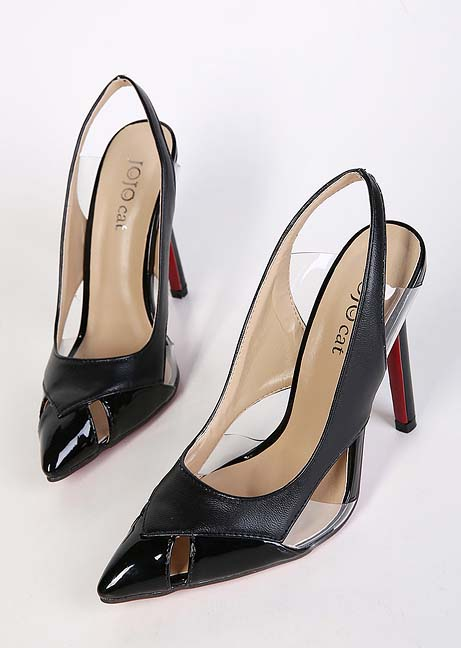 Black High Heel Sandals, Fashion Lady High Heels, Party High Heels, Spring  Shoes
