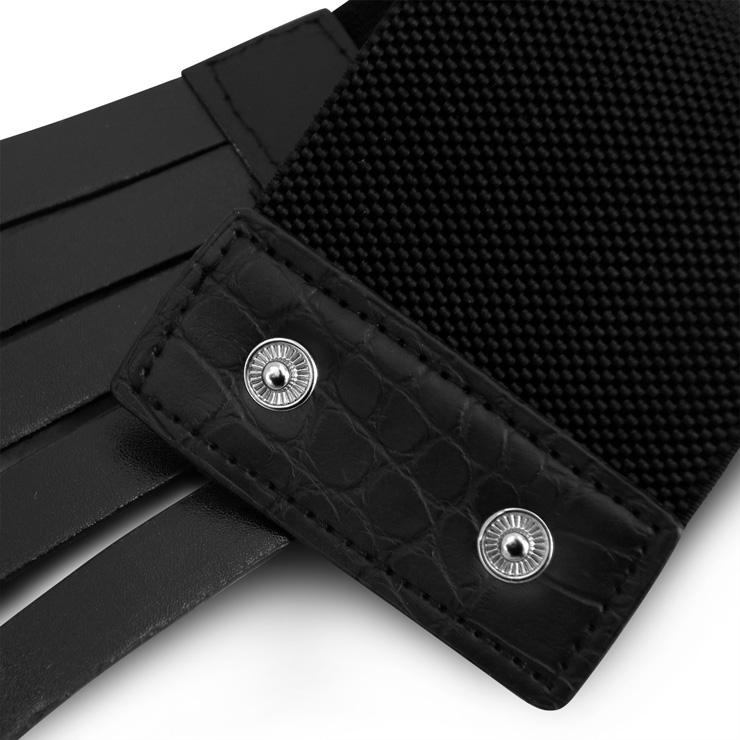 Punk Waist Belt, Metal Waist Belt, Vintage Waist Belt, Elastic Waist Belt, Waist Belt for Women, Wide Cinch Belt, Black Girdle, #N15385