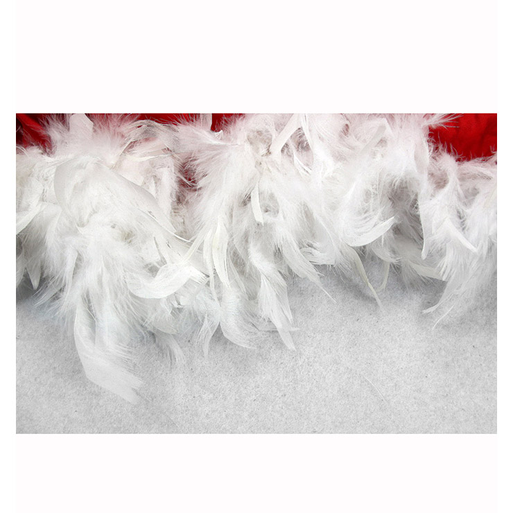 Fever Santa Baby Burlesque Costume, Burlesque Santa, Red Burlesque Outfit, #XT6351