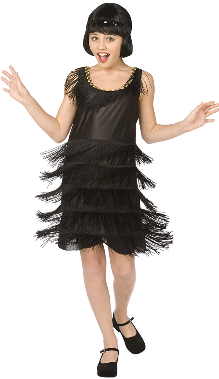 Flapper Child Halloween Costume N5992 - Dress Halloween Costumes