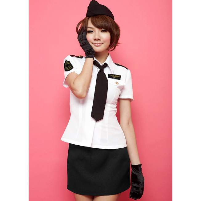 Flight Stewardess Costume N8463