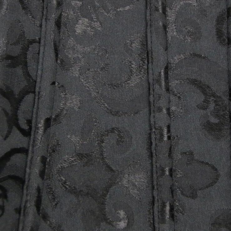 Heavy Duty floral brocade corset, Underbust Corsets, Floral Brocade Underbust Corset, #N2441