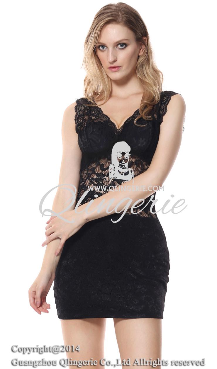 d0b7d8c9c5d Floral Lace Mini Dress N8007