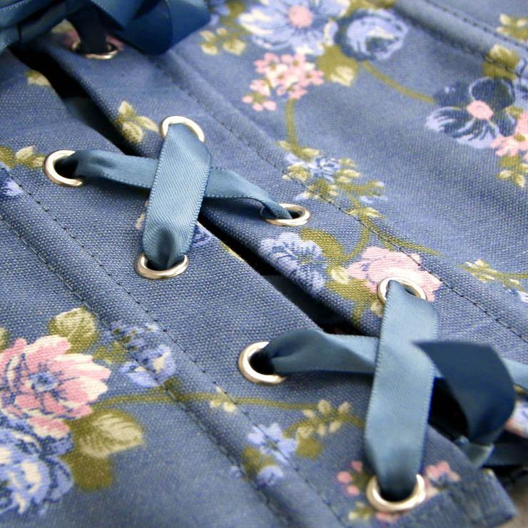 Floral Halter Corset, Underwire Halter Corset, floral zipper corset, Sexy Clubwear Corset, Fashion Summer Bustier Corset, #N5502