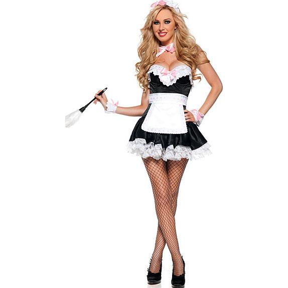 sc 1 st  MallTop1.com & French Maid Costume M2856