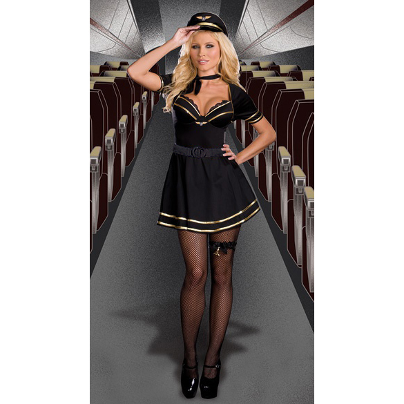 French Mile High Captain Costume CP1673