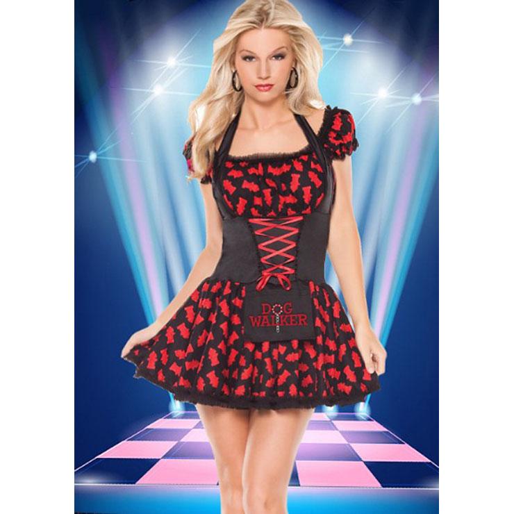 French Waitress Clubwear Costume N12886