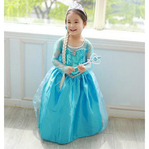 sc 1 st  MallTop1.com & Frozen Princess Elsa Costume N8471